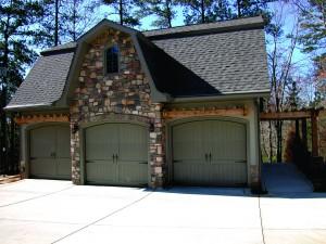 Three Single Garage Doors |