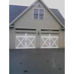 Two Single Garage Doors | Harpswell, ME