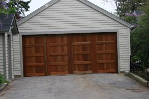 Residential Wood Garage Door | Waterville, ME