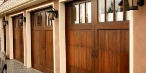 Residential Wood Garage Door | Boothbay, ME